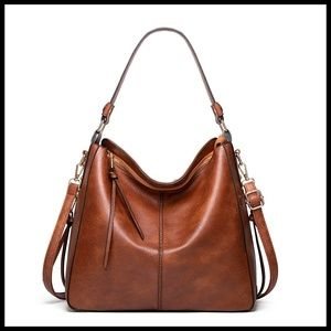 NEW ELVA Hobo Shoulder Bag Crossbody